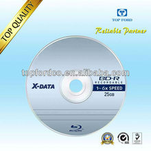 Bluray Disc 25GB 50pcs Cake Box Packed HIgh Quality