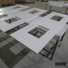 KKR factory price solid surface countertop with CE&SGS approval