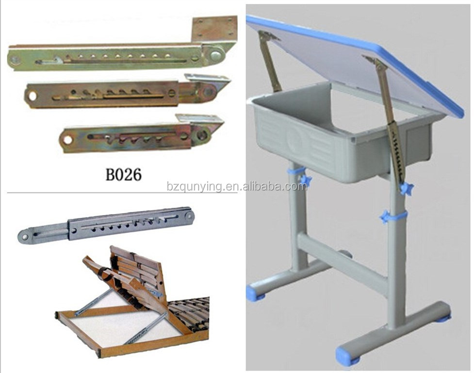 Best quality adjustable educational table lift hinge