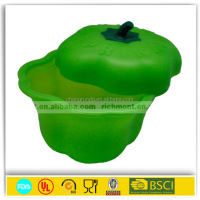 3PCS 14CM-16CM-18CM food storage container sets silicone keep fresh salad bowl