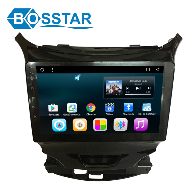 car dvd stereo radio android for Chevrolet Cruze 2017 gps navigation with steering wheel control wifi 3G software sd