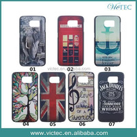 Cartoon Painting Hard Back Case For Samsung Galaxy s6