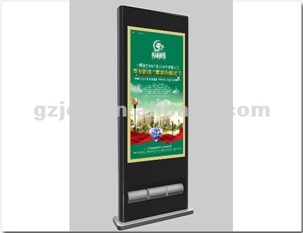 42 inch free stand shoes polish Lcd advertising digital kiosk