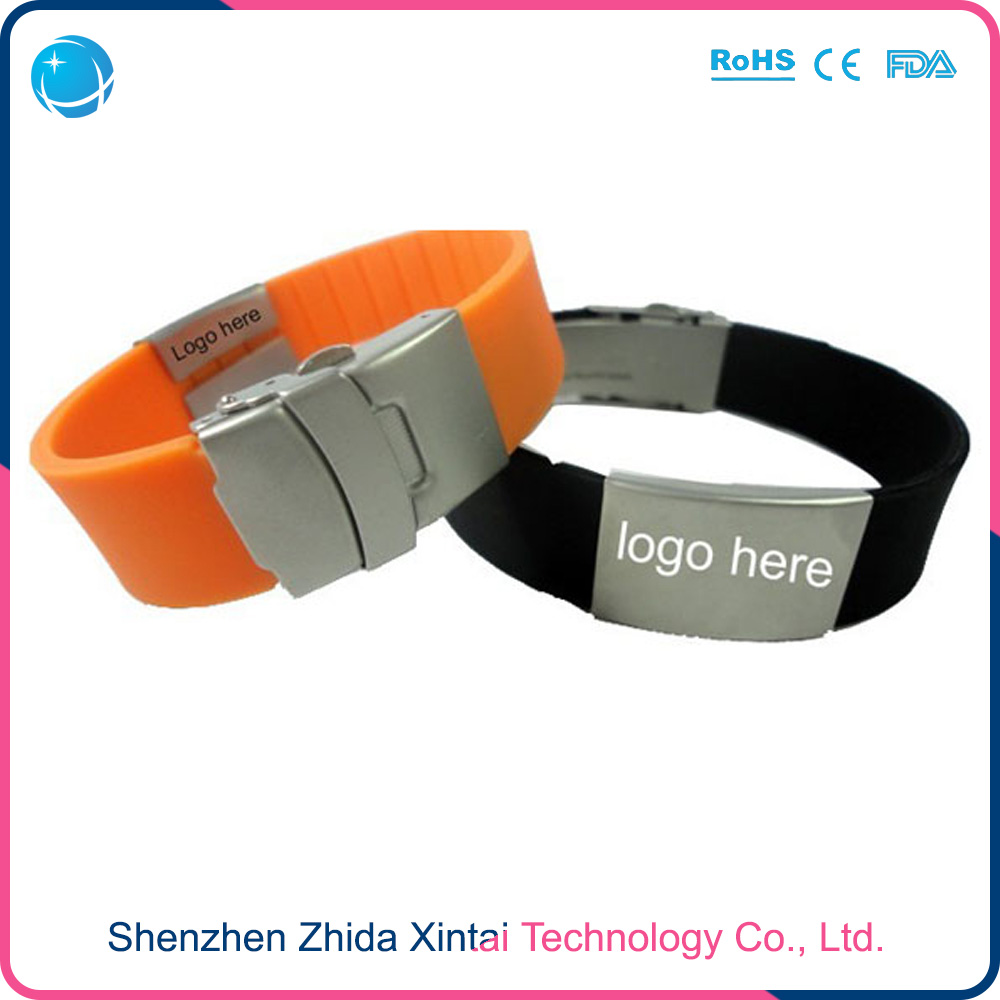 Wholsale Plastic PVC Wristband Bracelet for swimming pool