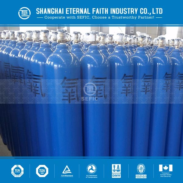 Major Markets In Europe , South Africa , Turkey , Africa , Russia 10L 1.5m3 Oxygen Gas Cylinder Meter