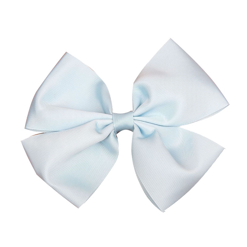 Personalized custom 3 inch solid color craft grosgrain ribbon cheer bows for decoration