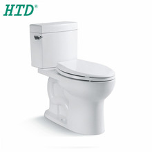 HTD-MY-2602 New design bathroom ceramic washdown siphonic toilet with UPC flush valve