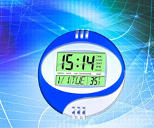 Manufacturer supply round digital wall clock