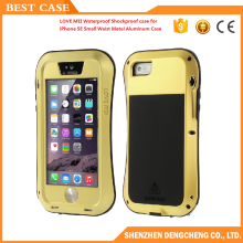 Lovemei Small Waist Metal Aluminum Waterproof Shockproof case for iPhone 5S/SE