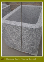 outdoor and garden used granite stone water trough
