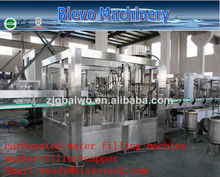 For coca cola carbonated/soft/soda drink filling machine/turn key project