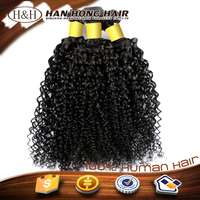 unprocessed full cuticle straight Indian temple hair jerry curl human hair for braiding