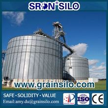 China Leading Grain Silo Manufacturers, Steel Silo Used For Wheat/Corn/Soya