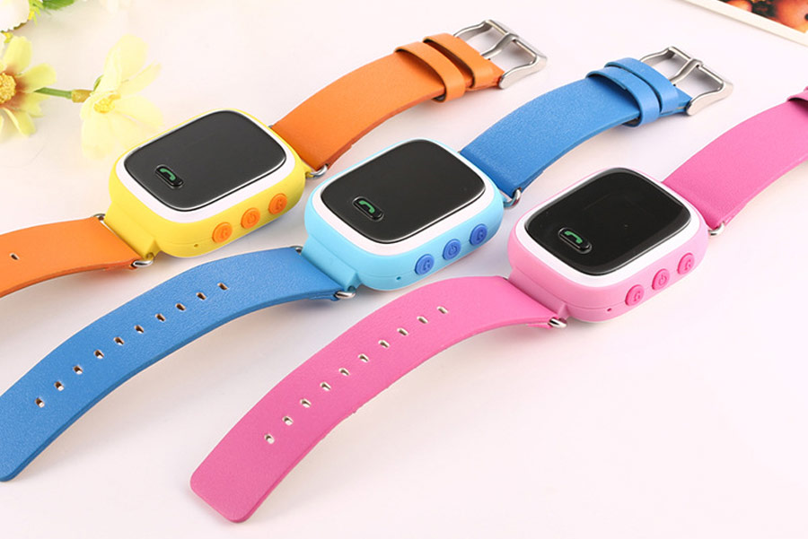GSM card calling android mobile phone kids cell phone smart watch