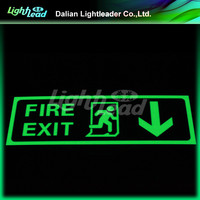 PVC base run man exit glow signages