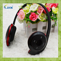 2015 new design BH-503 V2.1 fashion sport bluetooth MP3 FM card reader stereo headset
