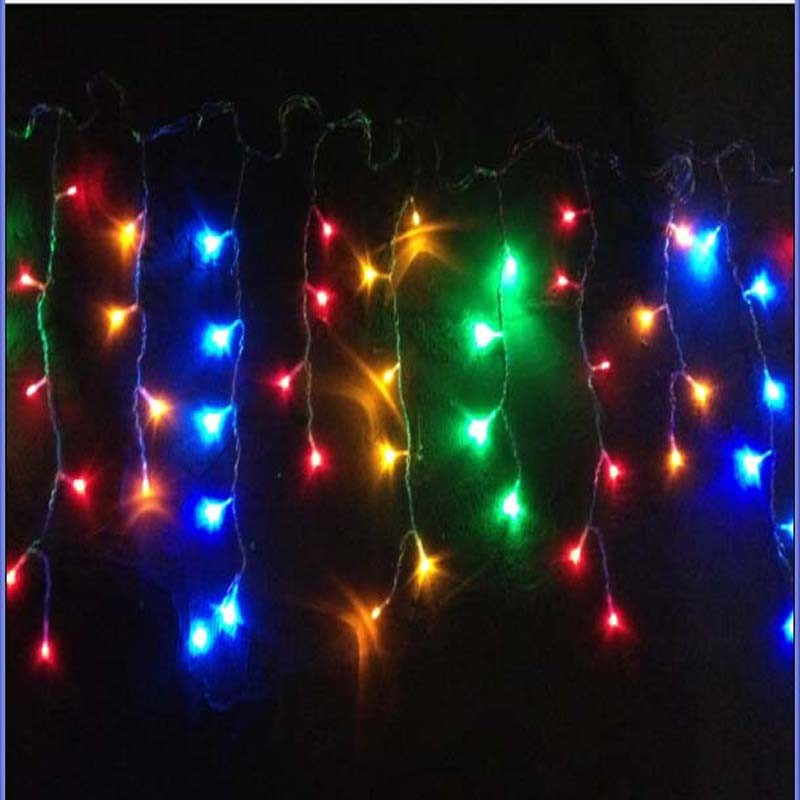 led icicle christmas decorative lights string lights for holiday. Black Bedroom Furniture Sets. Home Design Ideas