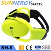 China industrial hard hat with ear muff With CE and ISO9001 Certificates