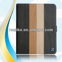 for ipad case wood,premium leather case for ipad 4