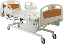 CE promise luxury guard rail up and down folded electric three function icu sick bed CY-B204