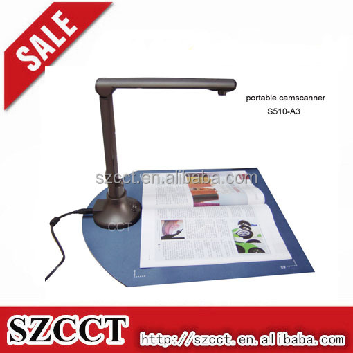 shenzhen Wholesale Mini Portable A3 Document ORC Scanner S510-A3