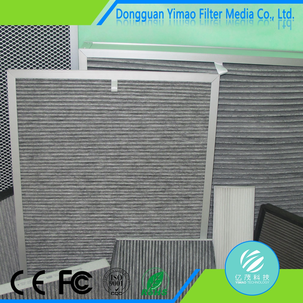 low price free sample air conditioning filter cleaning media
