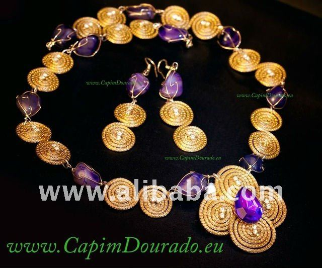 Capim Dourado Hand Made Craft GOLDEN GRASS Jewellery