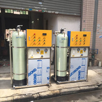 China gold manufacturer sales RO seawater desalination system