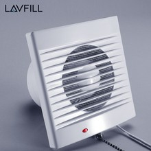 Ac Ventilation Duct Fan Ventilator Flow Sensor 18w Wall Exhaust Fan