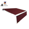 Most selling products retractable canvas car side 4x4 roof awning