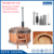 20 years factory red cedar wood stove hot tub wooden bathtub