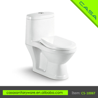 China Sanitary Ware one piece ceramic waterless kid commode