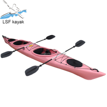 Double kayak for family fishing
