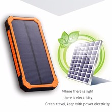 Best Selling Wholesale Dual USB Solar Power Bank 12000mah,Power Bank Portable Charger