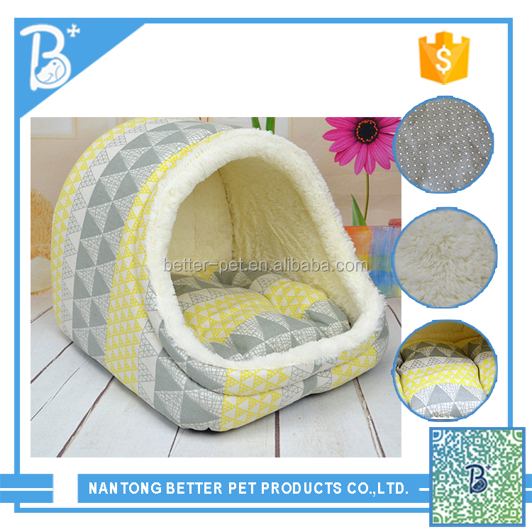 pet good quality and cheap large luxury dog beds with cat bed