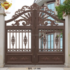 2017 good quality best selling house fence gate metal wrought iron garden gate LY-906