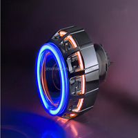 HID Bixenon Projector Headlight Lens Angel Eye Light