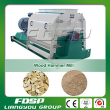 Easy maintenance industrial biomass wood chip hammer mill