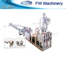 high efficiency pe water pipe extrusion line plastic pipe making machinery pe pipe manufacturing machine