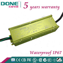 40W 43V Waterproof IP67 electronic LED driver with CE CB SAA C-TICK UL PSE BIS TUV Approved