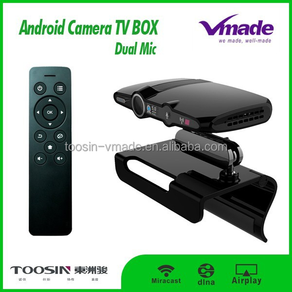 Allwinner 8GB ROM Android TV Box with 5.0 MP Camera lcd tv tuner box