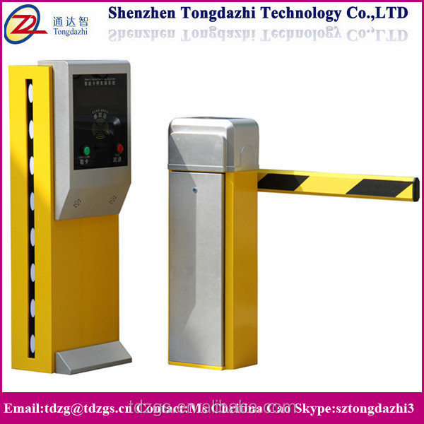 Electric Remote Control Boom Road Barrier/ Traffic Barrier Gate for Parking System