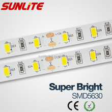 SAMSUNG SMD 5630 LED chips and SMD 5050 led strip DC 12V waterproof IP20 IP65 IP67 IP68 led strip light