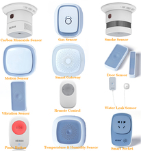 Heiman Smart Alarm Kits Preferred Package Home Security System