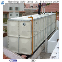 Fiberglass water tanks, GRP water box, frp panel water tank for drinking water