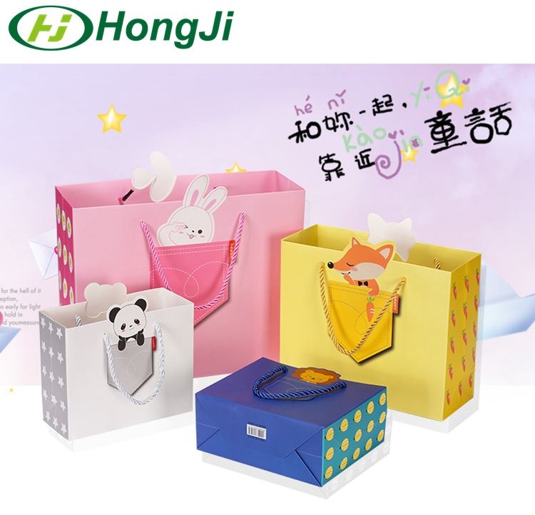 Fancy Gift Shopping Paper Bag Custom Paper Bag Manufacturer
