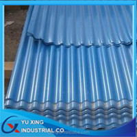corrugated roofing sheet hot dipped zinc coating