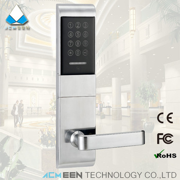 magic lock smart home rf card password combination lock pincode door lock