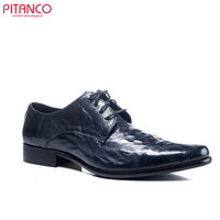 high class leather lace up dress shoes men