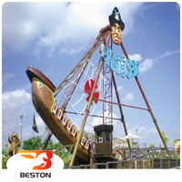 Beston 12 seats children amusement cheap small pirate ship for sale